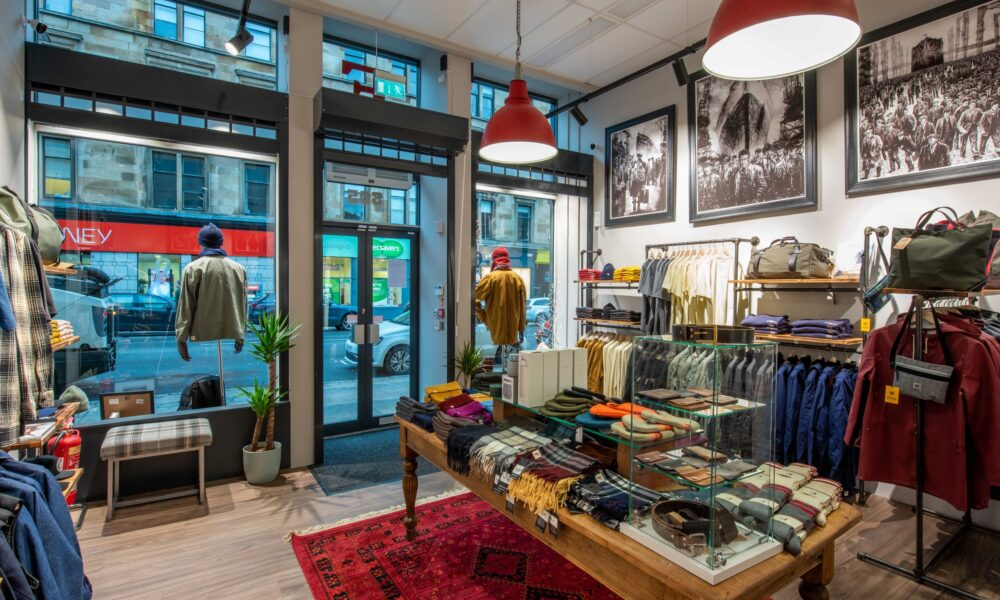 Finnieston Clothing Interior